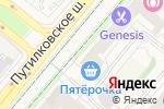 Схема проезда до компании Домовенок в Путилково