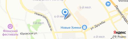 Детский сад №13 на карте Химок