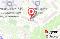Схема проезда до компании Стройпроект-Инновации в Москве