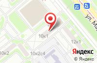 Схема проезда до компании КАМЦЕНТР Беседы в Москве