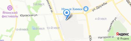 Гера на карте Химок