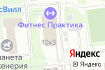 Схема проезда до компании Зебра в Москве
