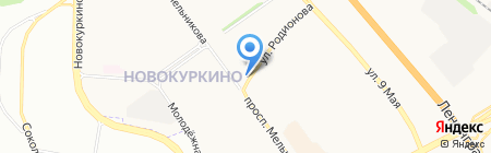 ПИК на карте Химок