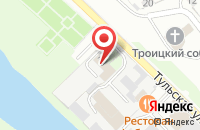 Схема проезда до компании Геометрия Развития-Серпухов в Серпухове