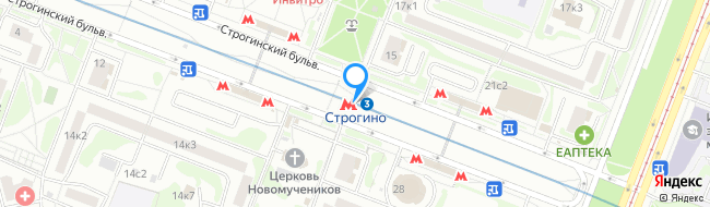 метро Строгино