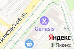 Схема проезда до компании Город дверей в Путилково