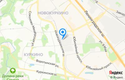 Местоположение на карте пункта техосмотра по адресу Московская обл, г Химки, ул Молодежная, д 40