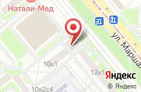 Схема проезда до компании Универсальная Строительная Компания в Москве