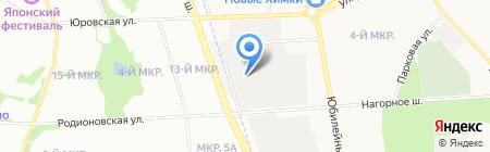 Авто-Плаза на карте Химок