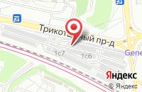 Схема проезда до компании Инициатор в Москве