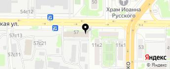 АЛЬТА-КАРТЕР на карте Москвы