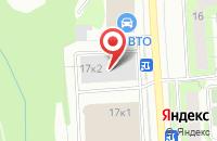 Схема проезда до компании Дор-Запад в Москве