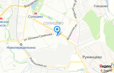 Местоположение на карте пункта техосмотра по адресу г Москва, ул Авиаторов, д 7