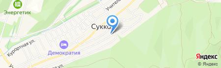 Арбитражный управляющий Самойлов-Самарин Г.С. на карте Анапы