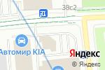 Схема проезда до компании АМКапитал в Москве