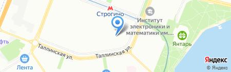 Средняя общеобразовательная школа №705 с дошкольным отделением на карте Москвы