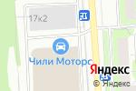 Схема проезда до компании AudiKoleso в Москве