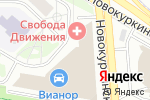 Схема проезда до компании Поларис Мастер в Москве