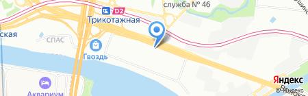 Нексби на карте Москвы