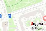 Схема проезда до компании Таркеттпол в Москве