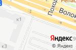 Схема проезда до компании МастерПрофи в Москве