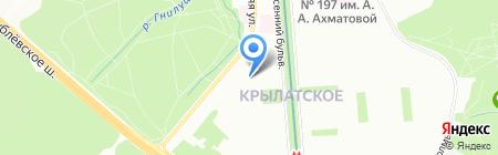 Школа №1130 с дошкольным отделением на карте Москвы