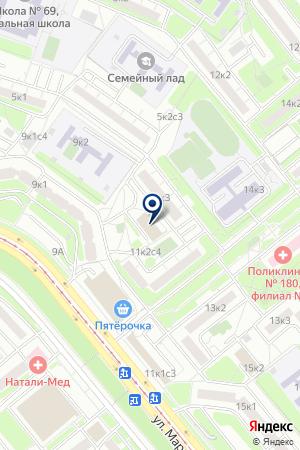 ГУ ДК СОВРЕМЕННИК на карте Москвы