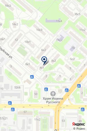 АВАРИЙНО-РЕМОНТНОЕ ПРЕДПРИЯТИЕ КУНЦЕВО на карте Москвы