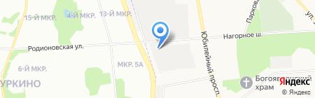 Гаражно-строительный кооператив №14 на карте Химок