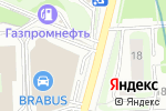 Схема проезда до компании Гильдия Мастеров в Москве