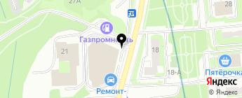 АвтоТехнолоджи на карте Москвы