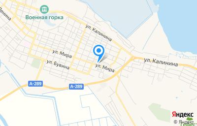 Местоположение на карте пункта техосмотра по адресу Краснодарский край, г Темрюк, ул Мира, д 105 к о