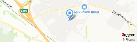 Вашутинский таможенный пост на карте Химок