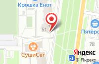 Схема проезда до компании Планета здоровья в Серпухове