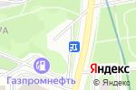 Схема проезда до компании На Осенней в Москве