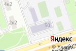 Схема проезда до компании Средняя общеобразовательная школа №809 с дошкольным отделением в Москве