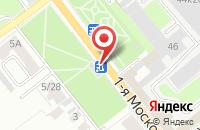 Схема проезда до компании Браво-Мед в Серпухове