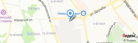Гаражно-строительный кооператив №27 на карте Химок