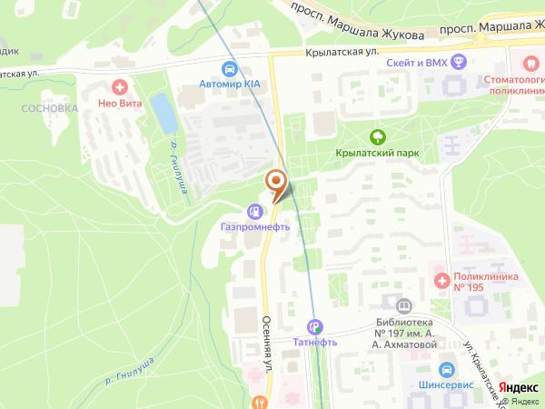 Остановка Универсам в Москве