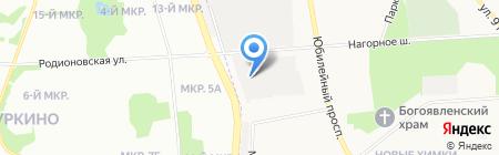 Гаражно-строительный кооператив №18 на карте Химок