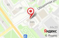 Схема проезда до компании Неон в Серпухове