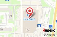 Схема проезда до компании Тайм в Серпухове