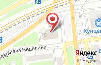 Схема проезда до компании Амега в Москве