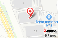 Схема проезда до компании Об в Химках