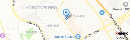 Магазин фастфудной продукции на проспекте Мельникова на карте Химок