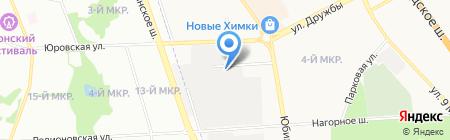 Химэнергосбыт на карте Химок