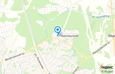 Местоположение на карте пункта техосмотра по адресу Тульская обл, рп Заокский, ул Шоссейная, стр 2