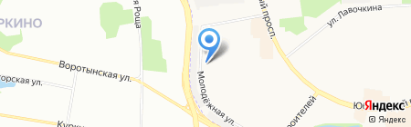 Мскомпринт на карте Химок