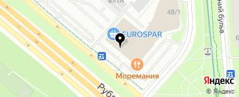 РАЙ АВТО СТРАХОВАНИЕ на карте Москвы