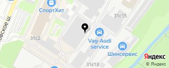 Пикап-Центр на карте Москвы